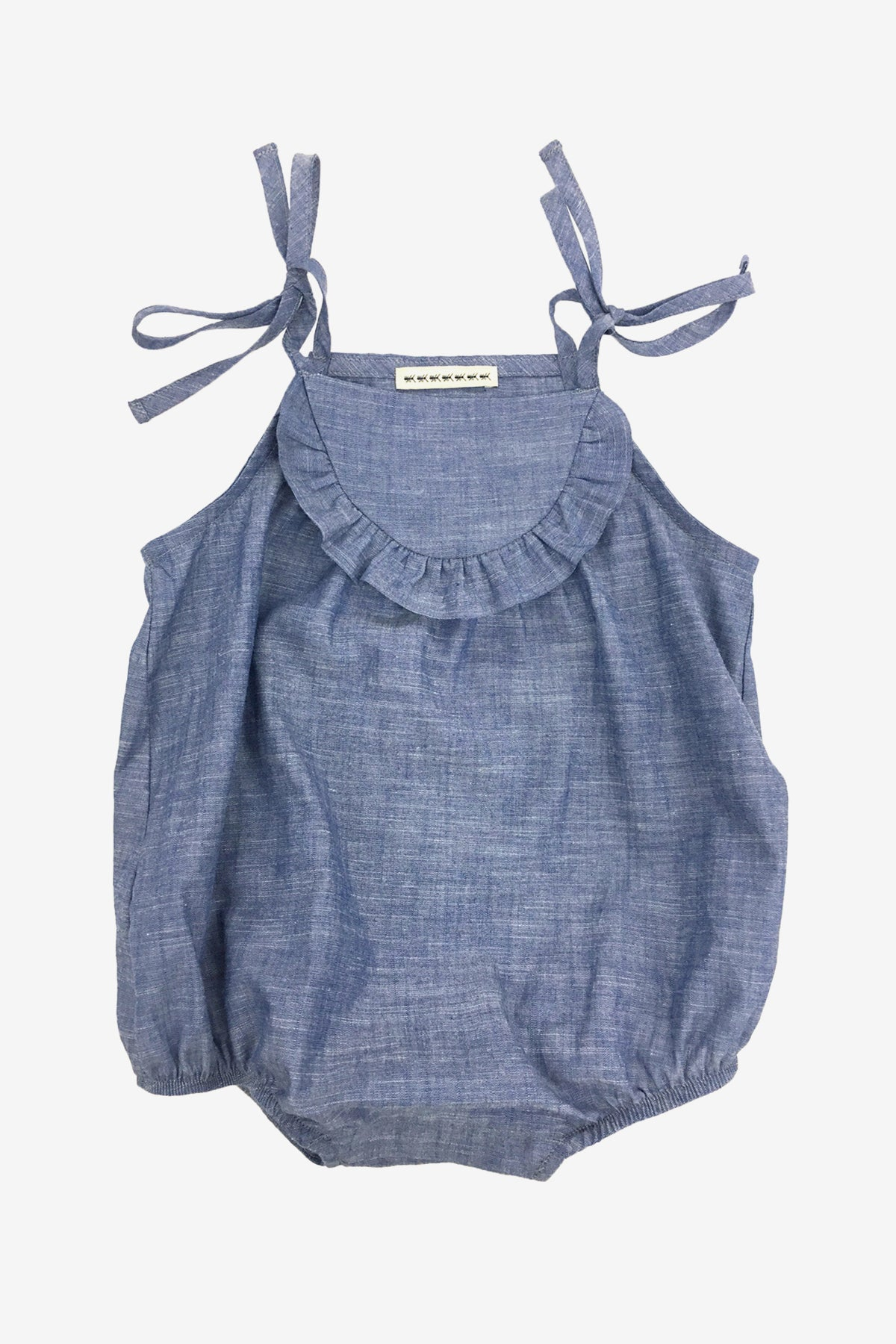 acfb942b9d48 Anthem of the Ants Baby Bubble Playsuit - Chambray (Size 6M left)