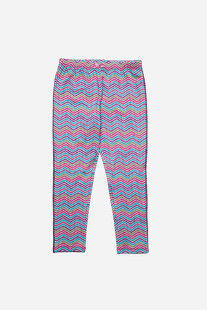 Pink Chicken Girls Legging - Sunset Purple