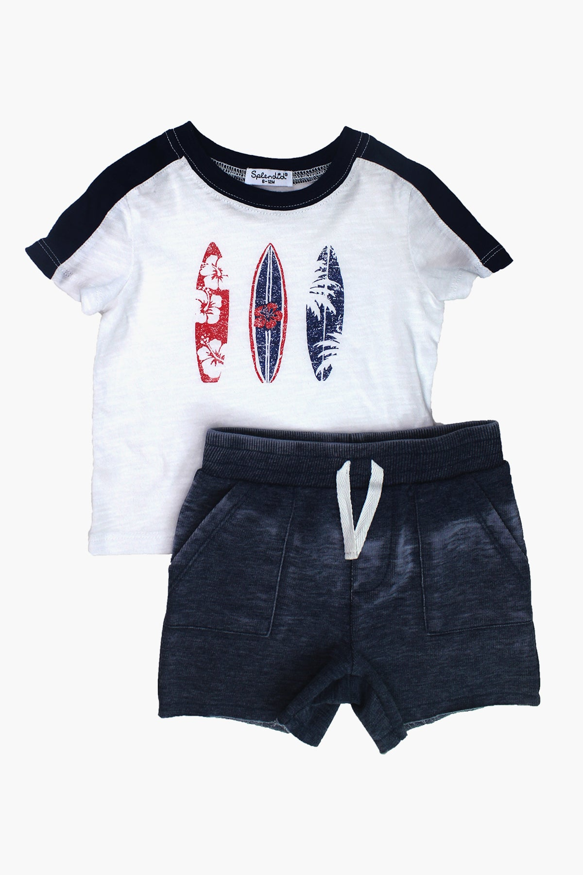 Splendid Surf Board Boys 2-Piece Set