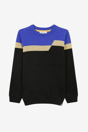 Jean Bourget Crewneck Boys Sweater