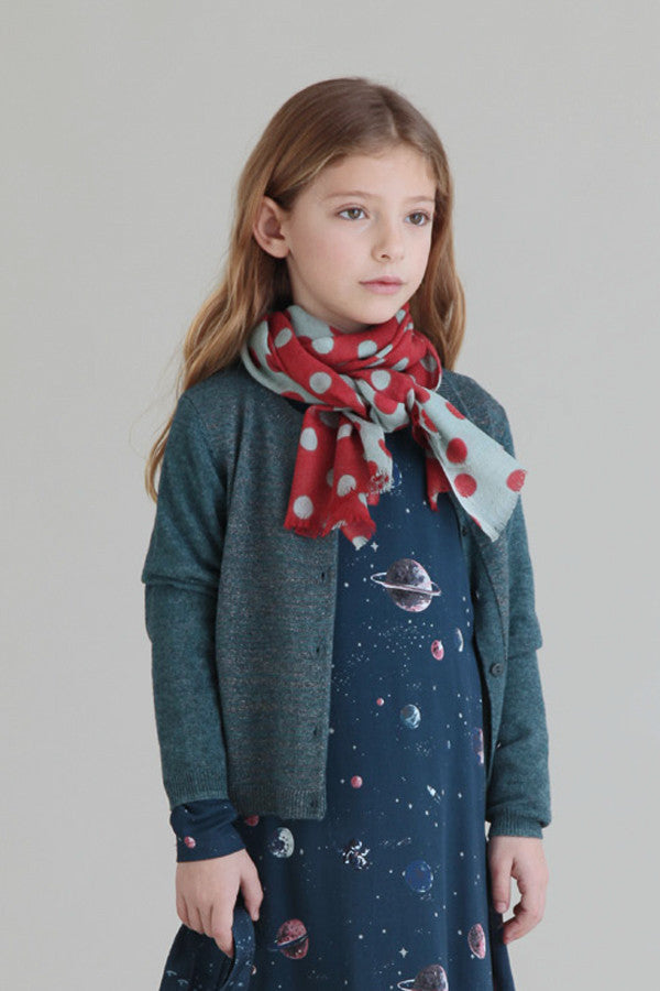 Nice Things Mini Girls Wool Cardigan (Size 2 left)