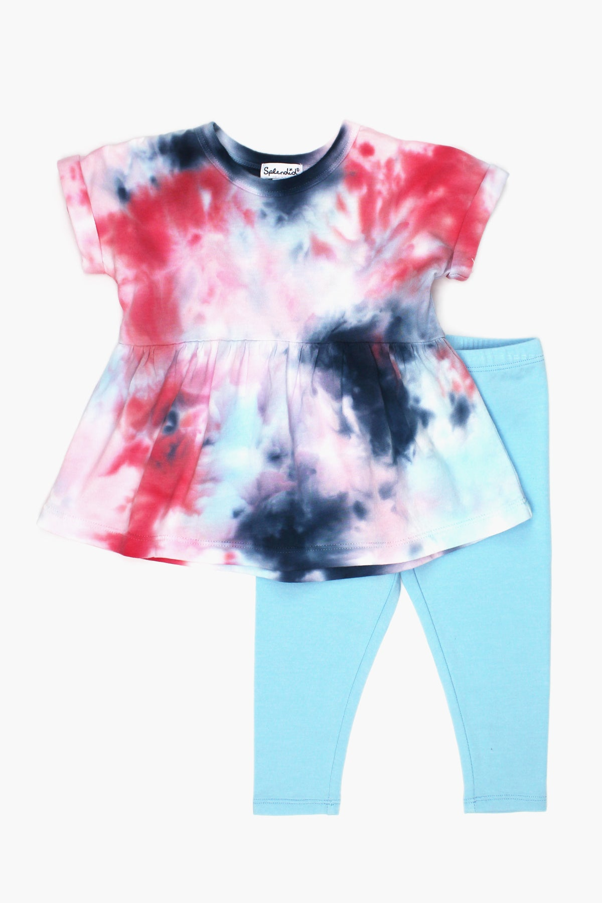 Splendid Tie Dye Baby Girls 2-Piece Set