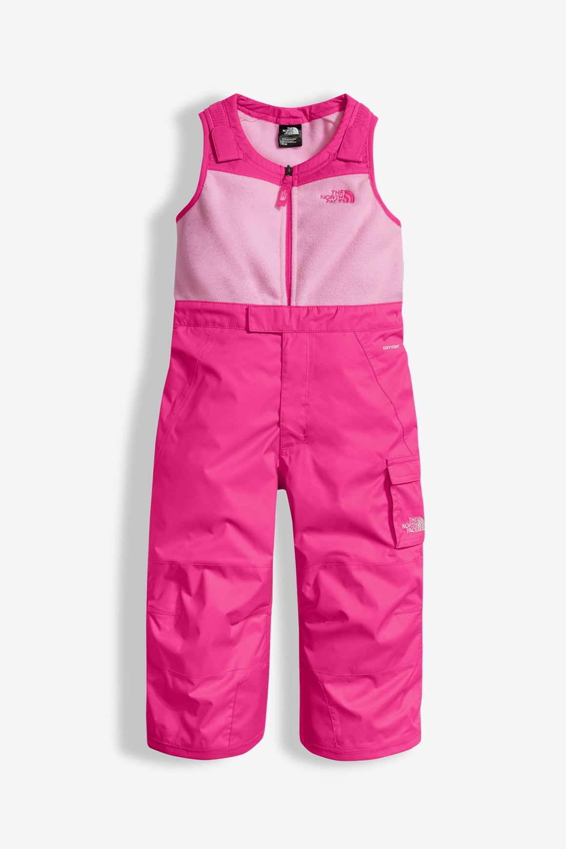The North Face Insulated Bib Snowpant - Pink