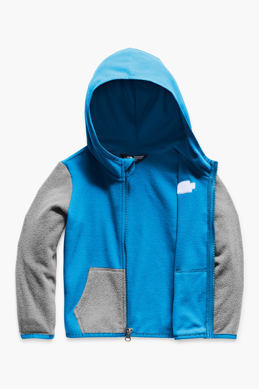 The North Face Toddler Glacier Full Zip Kids Hoodie - Clear Lake