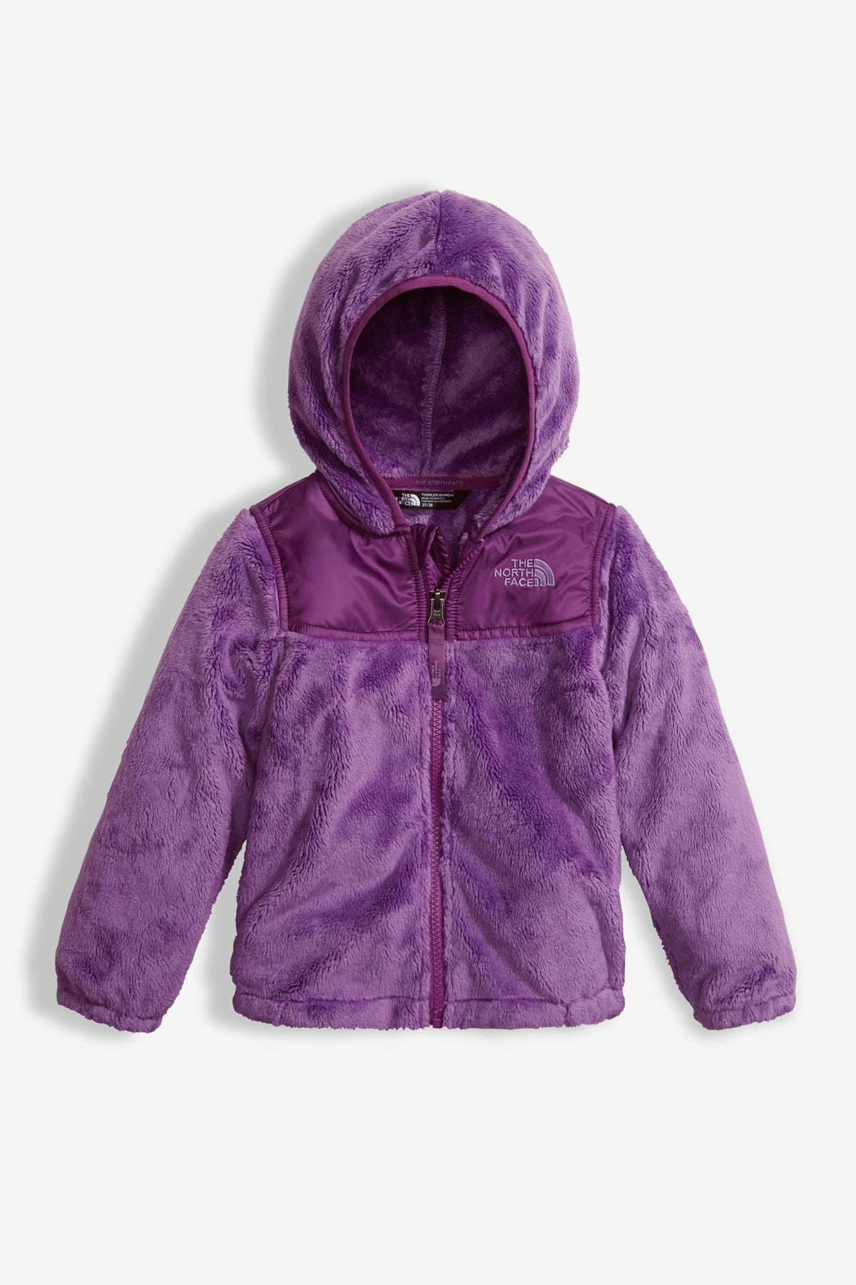 58ff298133 The North Face Little Girls Oso Hoodie - Mini Ruby