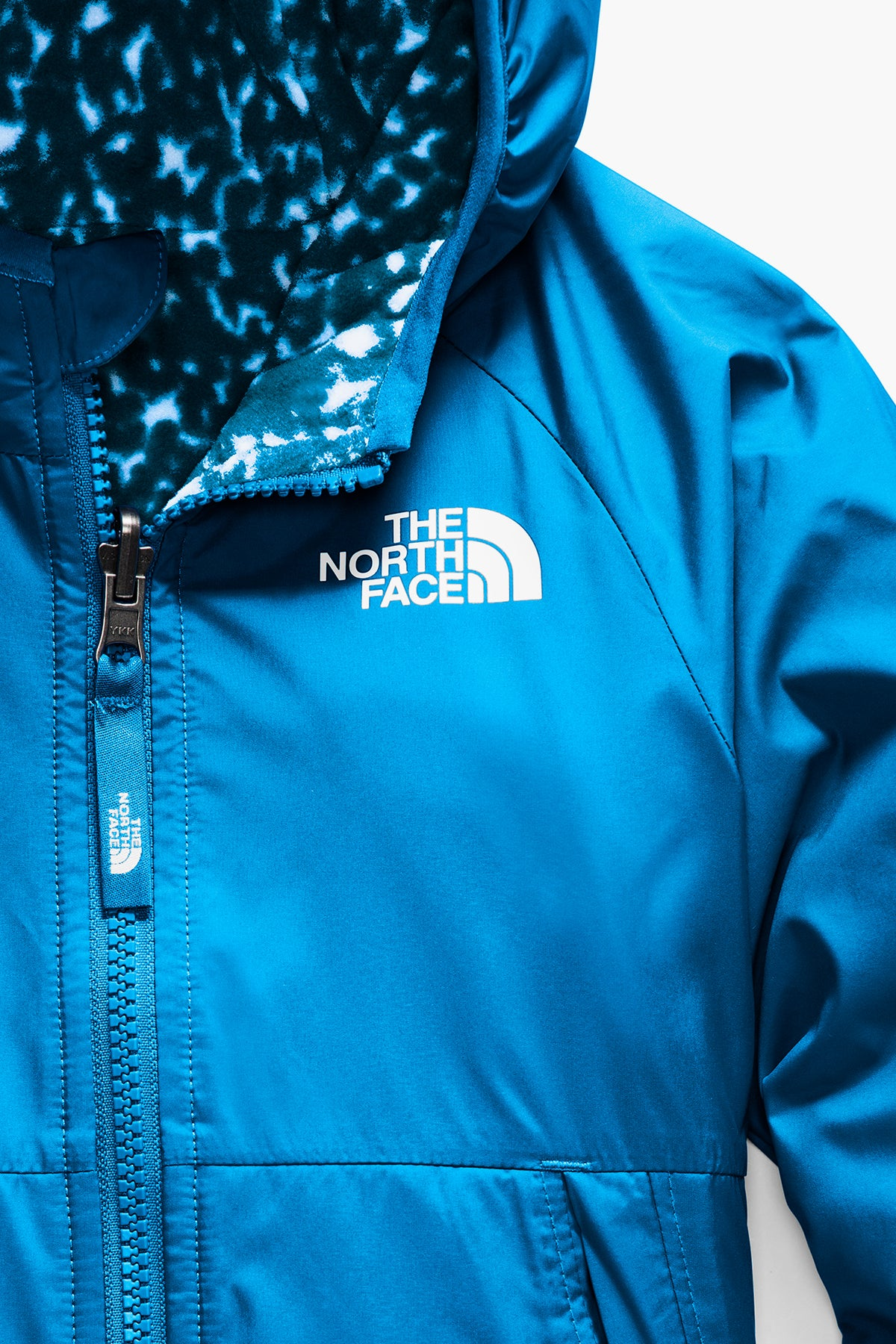 The North Face  Toddler Reversible Breezeway Wind Jacket - Clear Lake