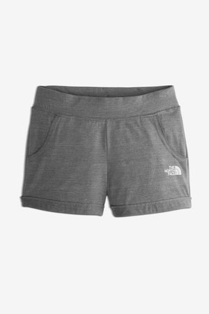 The North Face Girls' Tri-Blend Active Short - Grey