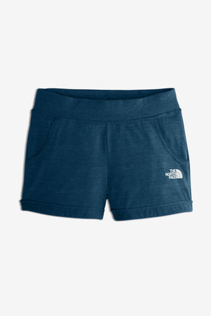 The North Face Girls' Tri-Blend Active Short - Blue Wing