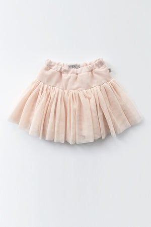 Wheat Soft Pink Tulle Girls Skirt