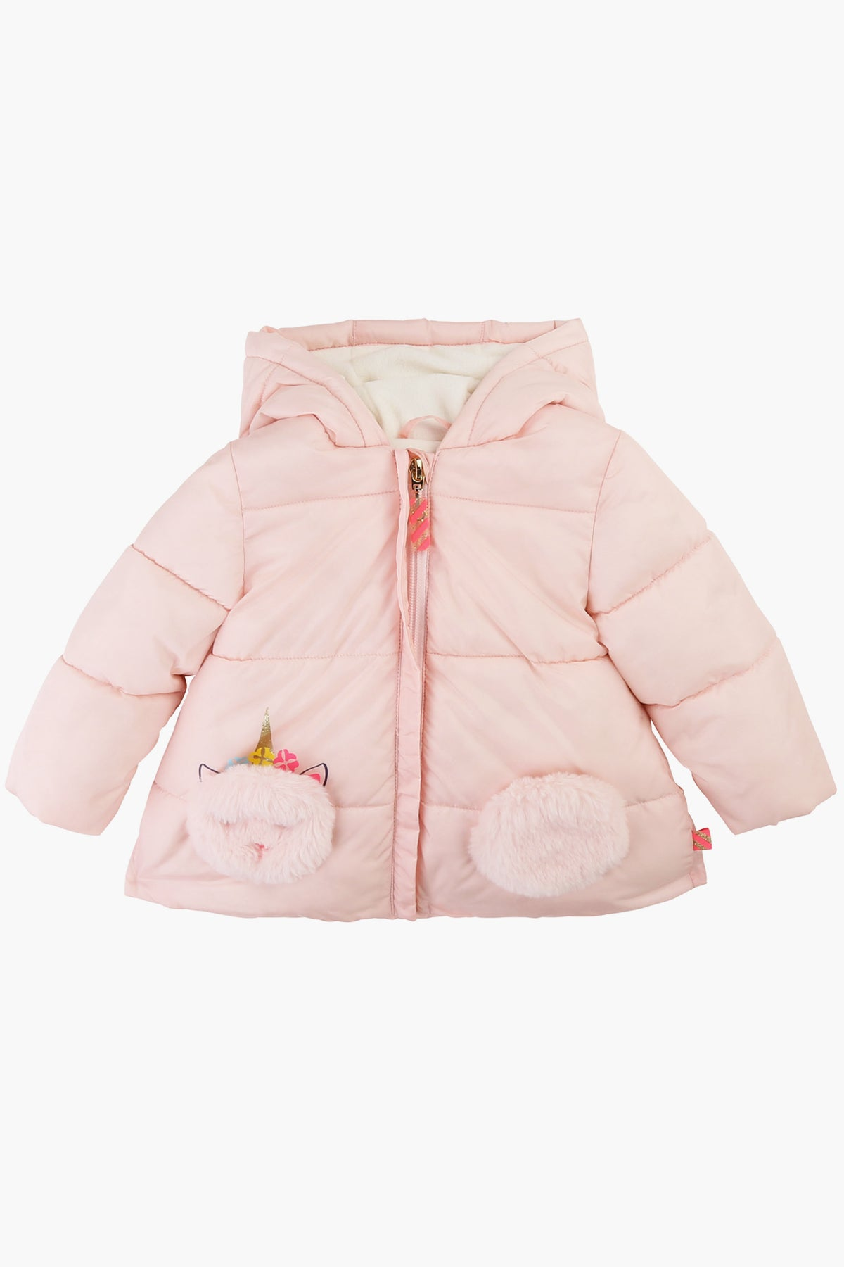 Billieblush Unicorn Puffer Baby Girls Jacket