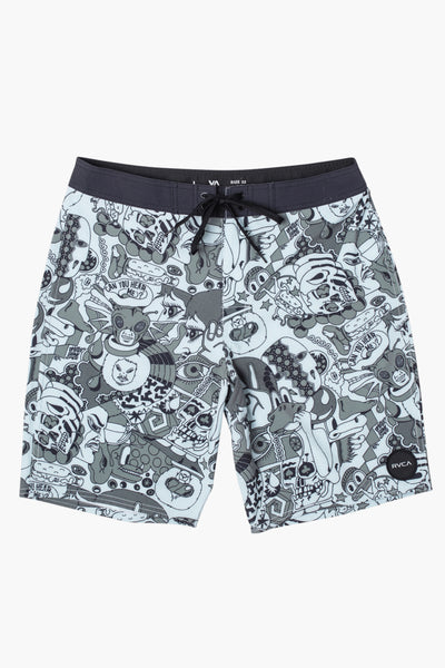 RVCA Va Boys Swim Shorts - Spearmint