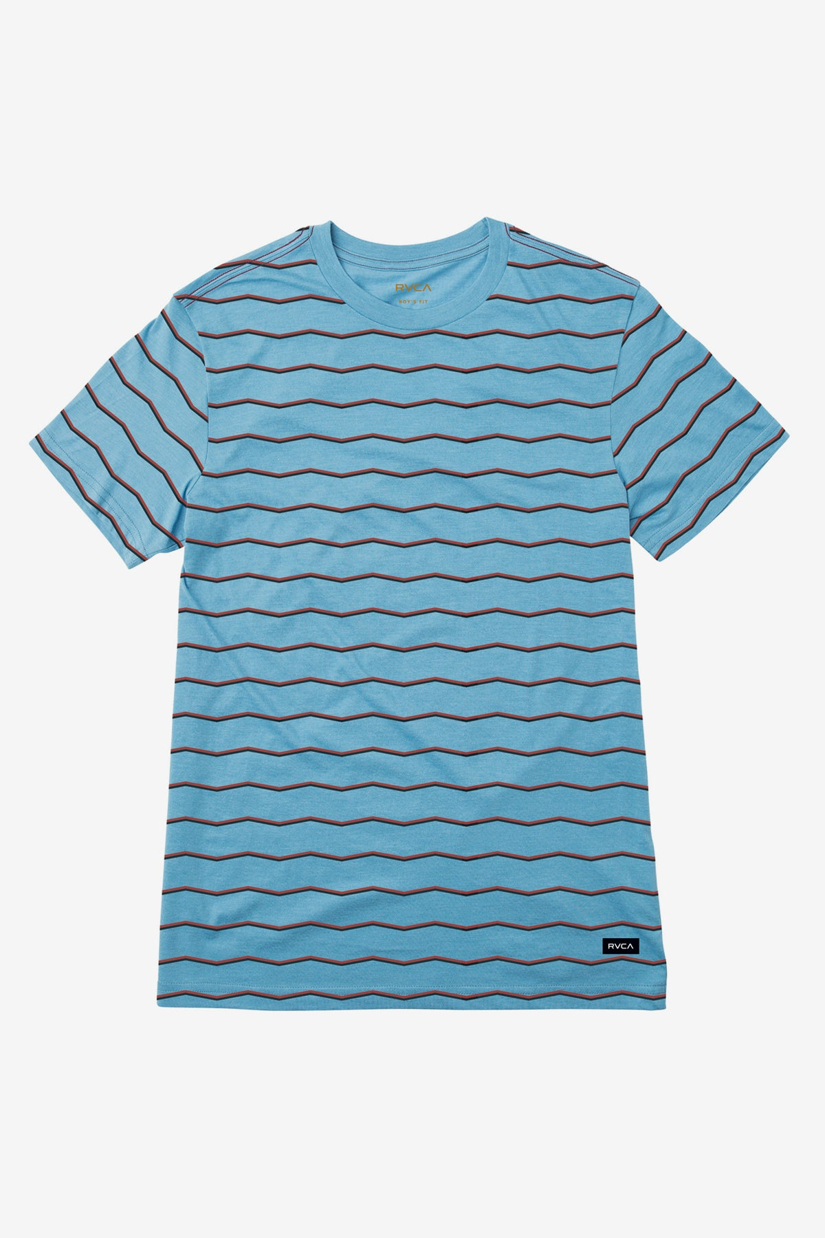 RVCA Boys VA Striped Tee