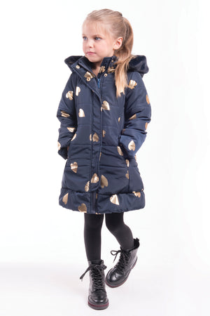 Imoga Vicky Girls Coat - Navy