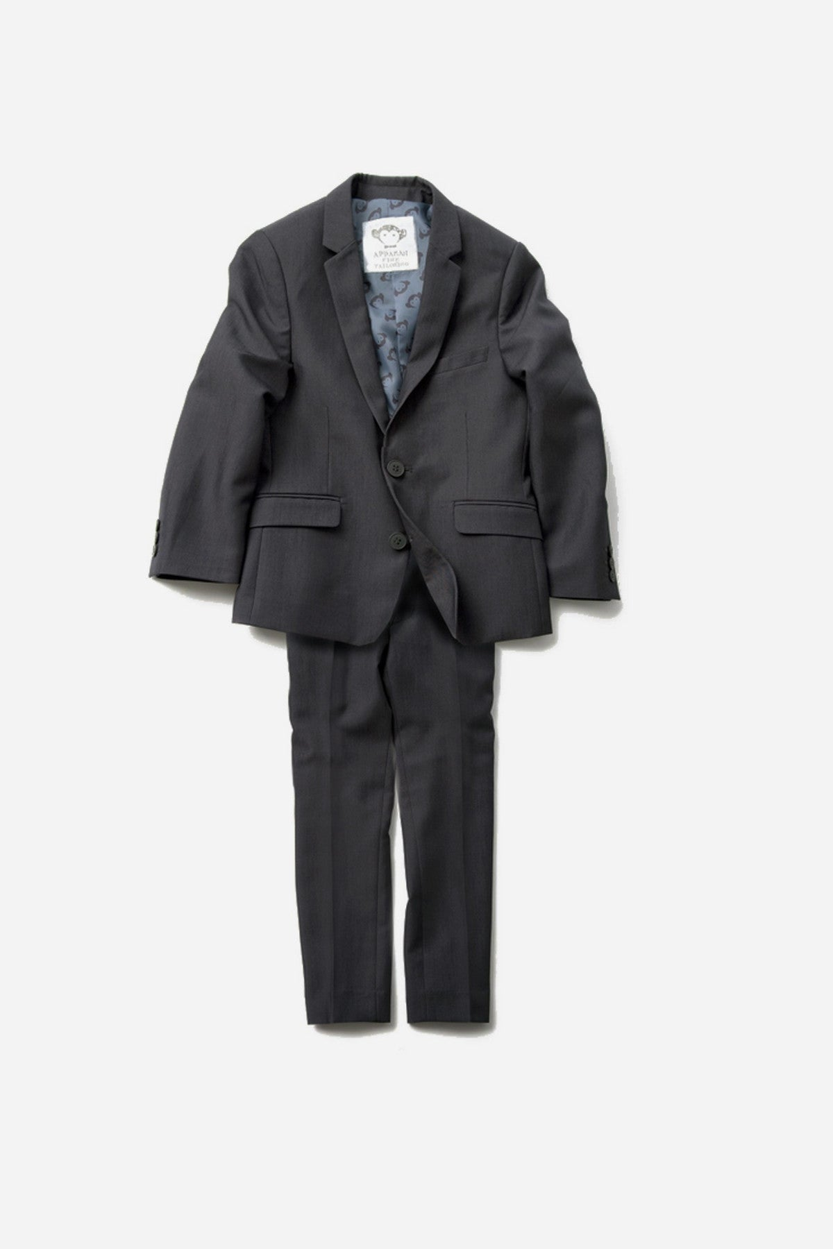 Appaman Boys Suit in Vintage Black