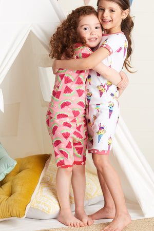 Hatley Watermelon Slices Girls Pajama Set