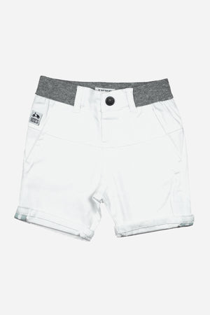 IKKS Tennis White Baby Boys Shorts