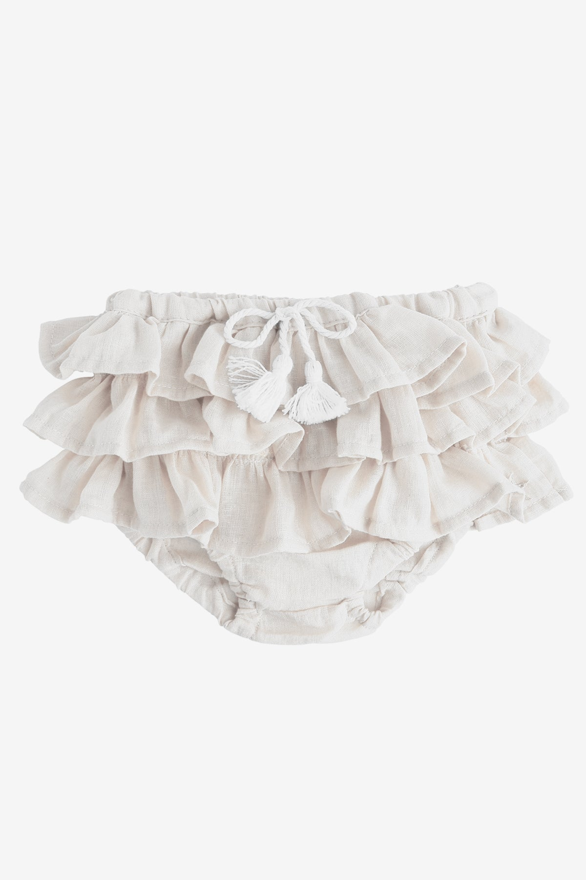 c491bf3c5e6 Tocoto Vintage Tiered Ruffle Bloomer - Mini Ruby
