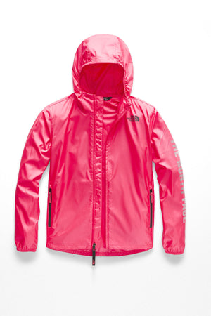 Youth Flurry Wind Hoodie - Atomic Pink