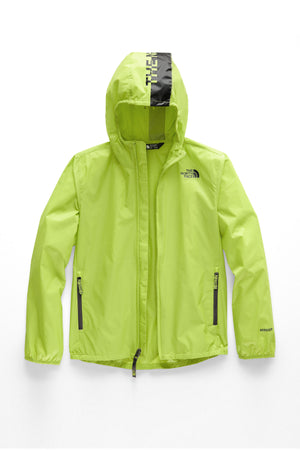 Youth Flurry Wind Hoodie - Lime Green