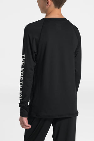 The North Face Youth Warm Crew Baselayer Set - Black