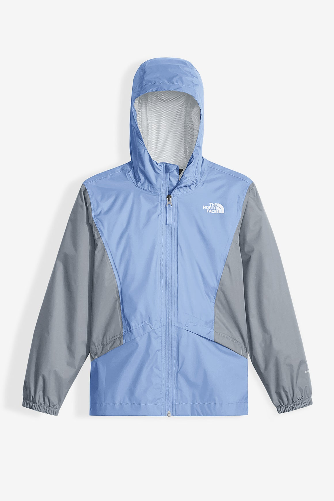 The North Face Girls' Zipline Rain Jacket - Collar Blue