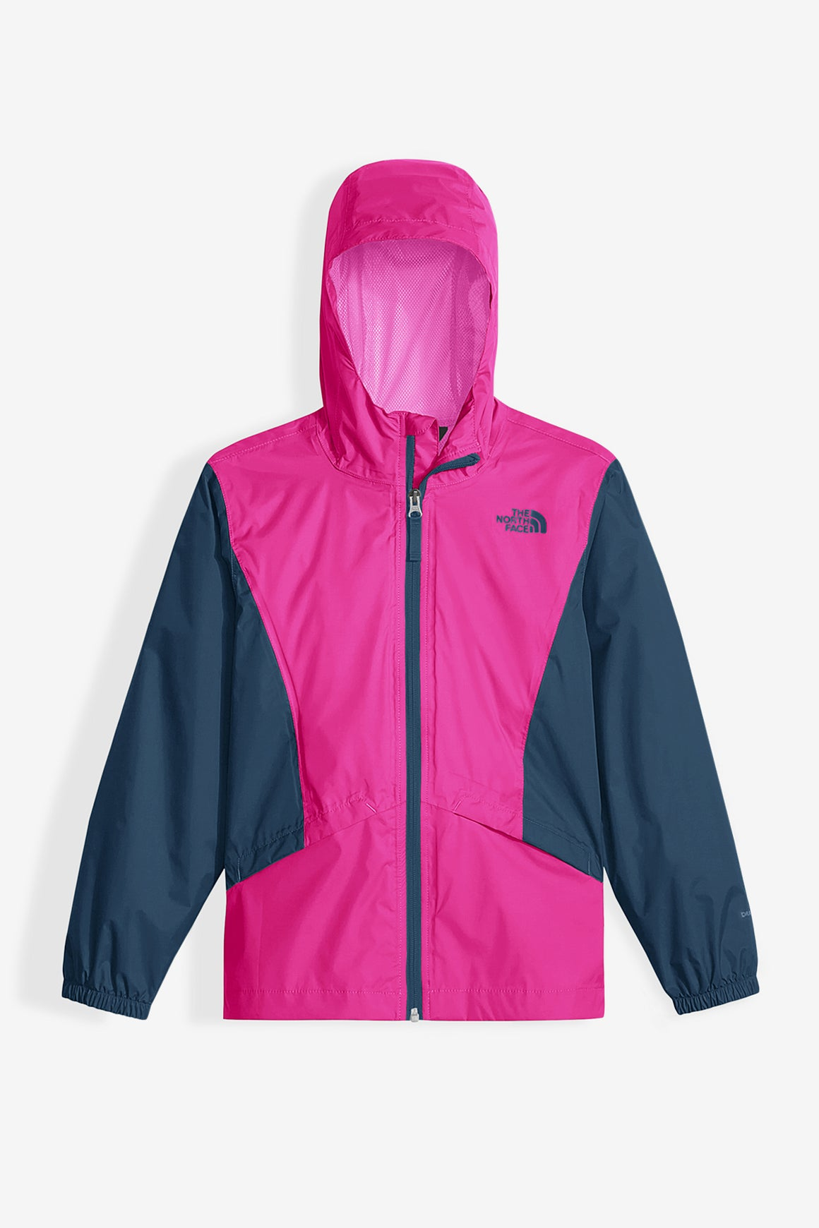 The North Face Girls' Zipline Rain Jacket - Petticoat Pink