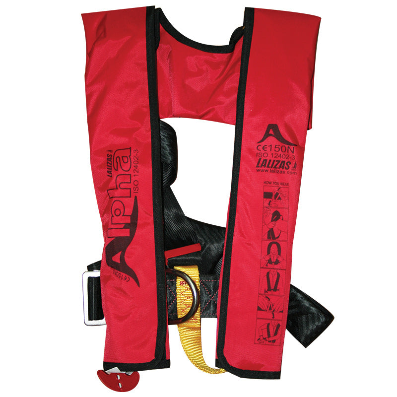 Alpha Infl.Lifejacket.Manual.Adult.170N,ISO 12402-3