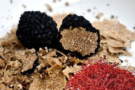 Recipes with truffles and saffron - the noble kitchen