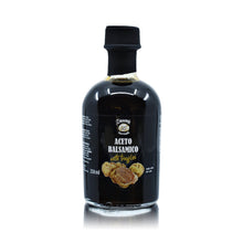 Load the picture into the gallery viewer, Aceto Balsamico mit weißen Trüffeln 250ml