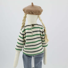 Load image into Gallery viewer, Bertille rag doll in jeans