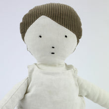 Load image into Gallery viewer, White linen soft doll