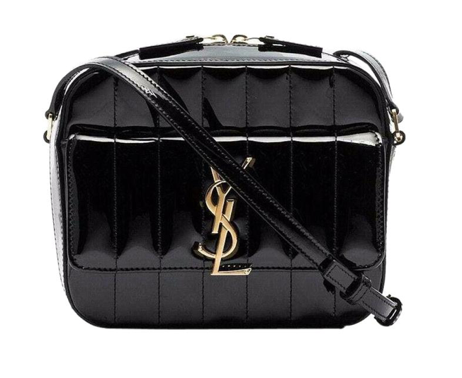 Patent Leather Crossbody Mini