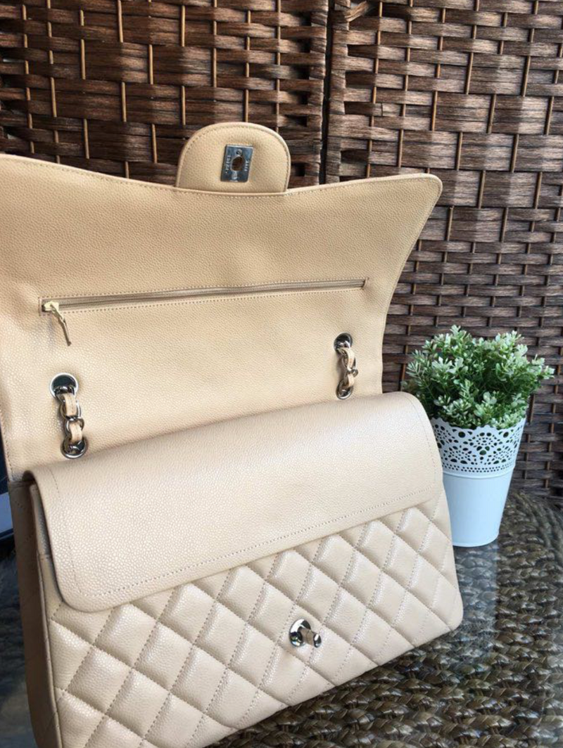 Nude Classic Flap Back