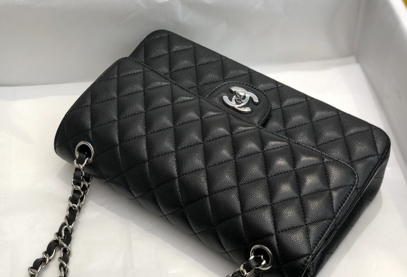 Black Flap-bag