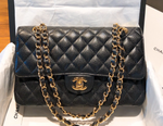 Black and Gold Flapbag