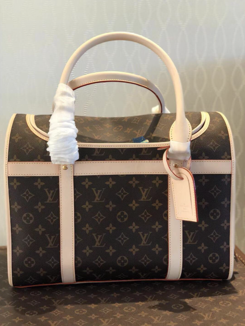LV Monogram Dog Bag