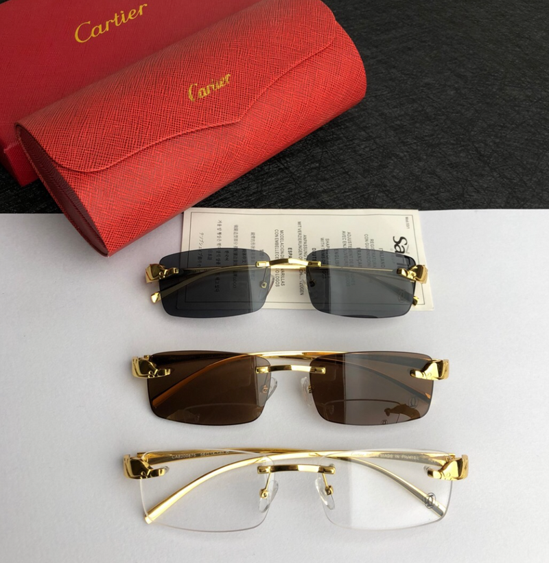 Mens Cartier Eyewear
