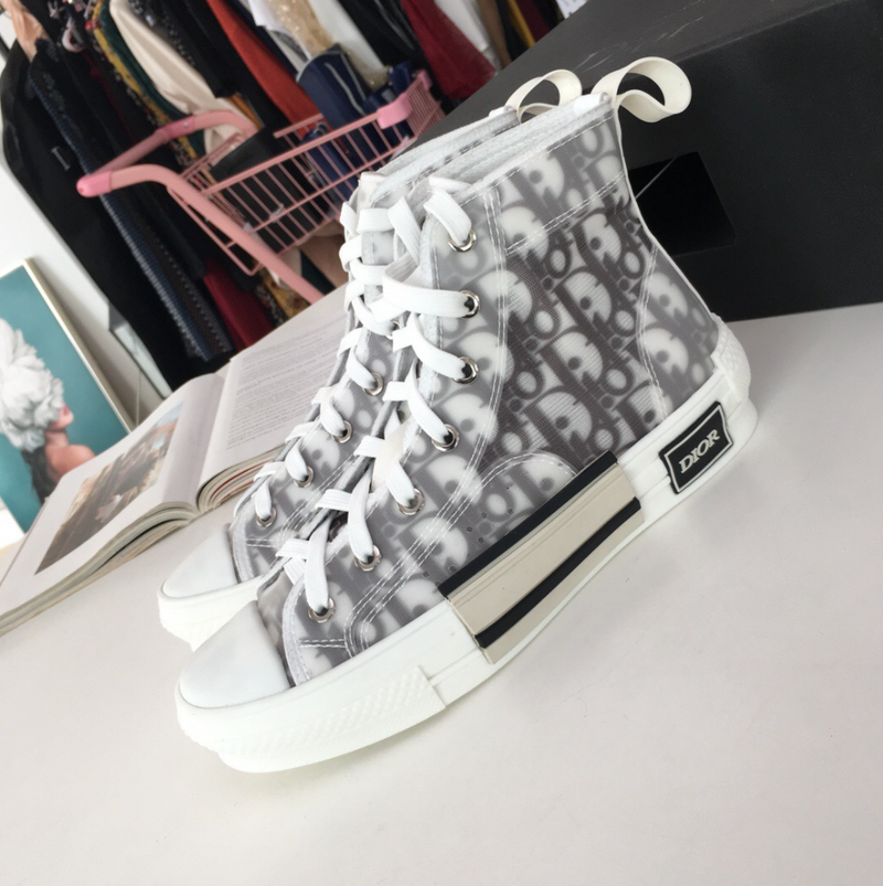 Oblique Canvas High Tops