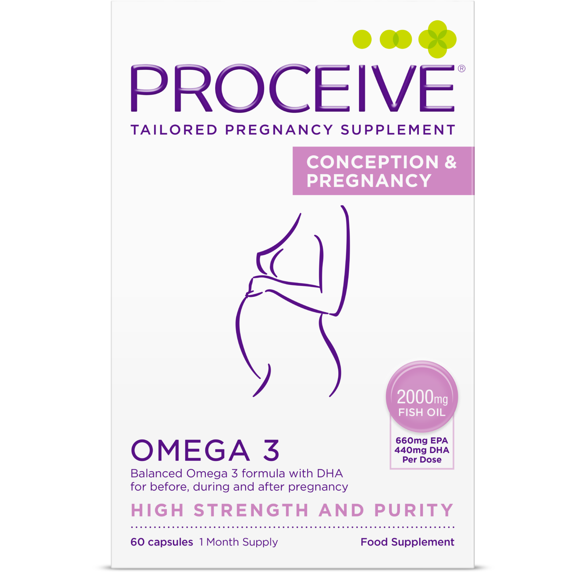 PROCEIVE® Conception and Pregnancy Omega 3