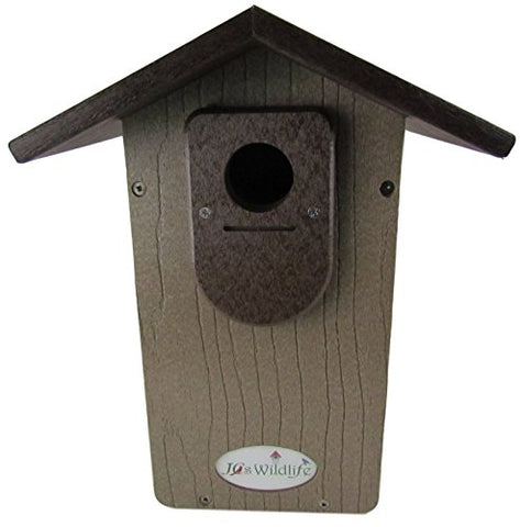 JCs Wildlife Brown Recycled Ultimate Bluebird House