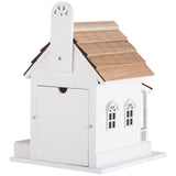 Deluxe Handcrafted Outdoor Wooden Birdhouse