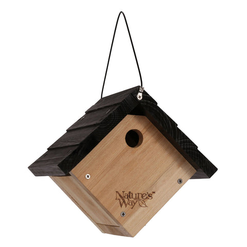 Natures Way Cedar WrenHanging Bird House