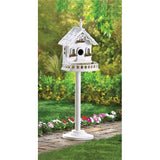 Country Home Standing Birdhouse