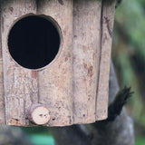 Handmade Wooden Environmental Protection Bird House Round Birdhouse