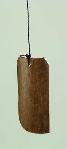Tropical Tiki Hut Birdhouse Bamboo Wind Chime