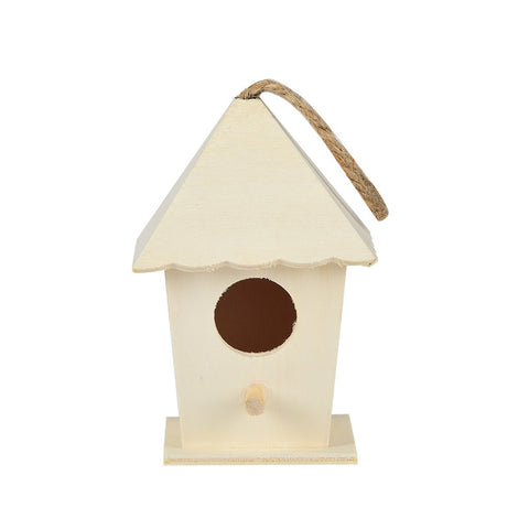 Mini Size Hummingbird Wooden Bird House