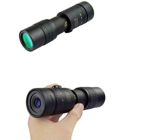 4K HD 10-300x40 High Double Vision Dual Focus Optical Zoom Monocular Telescope Telephoto Camera