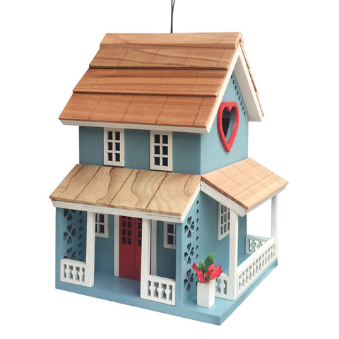 Home Bazaar Lovers Lane Cottage Birdhouse