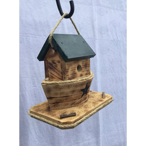 Burnt Pine Noahs Ark Bird House