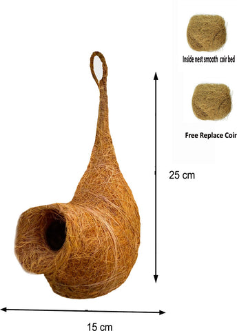 LIVEONCE bird safe EGG organic bird nest for bird